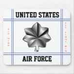 Air Force Lieutenant Colonel O-5 Lt Col Mouse Pad