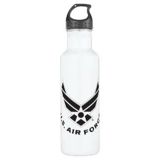 Air Force Logo - Black 710 Ml Water Bottle