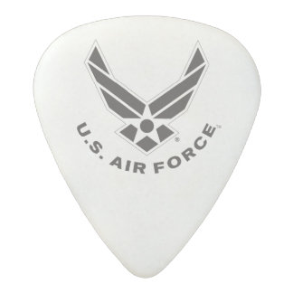 Air Force Logo - Black Acetal Guitar Pick