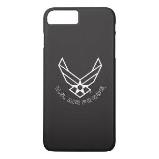 Air Force Logo - Black iPhone 8 Plus/7 Plus Case
