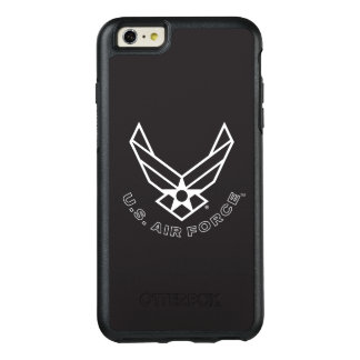 Air Force Logo - Black OtterBox iPhone 6/6s Plus Case