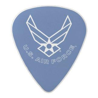 Air Force Logo - Blue Acetal Guitar Pick