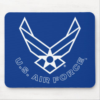 Air Force Logo - Blue Mouse Mat