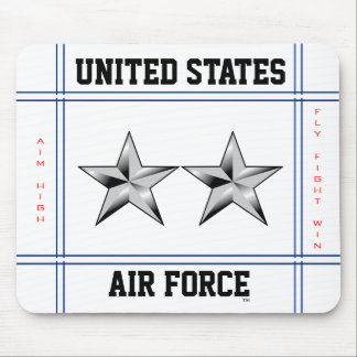 Air Force Major General O-8 Maj Gen Mouse Mat
