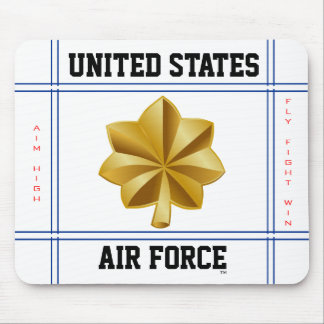 Air Force Major O-4 Maj Mouse Mat