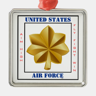 Air Force Major O-4 Slogan Christmas Ornament