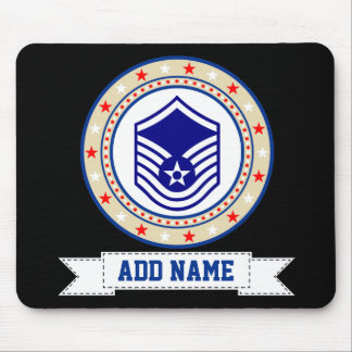 Air Force Master Sergeant E-7 MSgt Mouse Mat