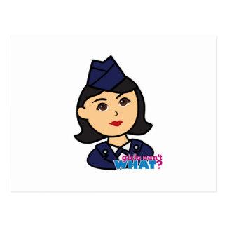Air Force Medium Head Post Cards