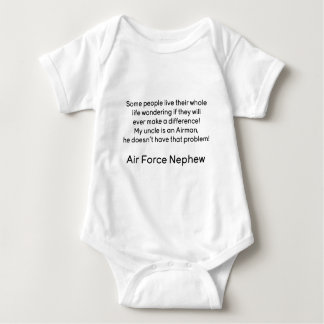 Air Force Nephew No Problem Unlce Baby Bodysuit