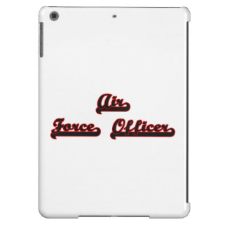 Air Force Officer Classic Job Design iPad Air Covers