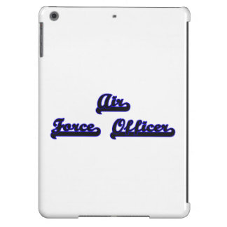 Air Force Officer Classic Job Design iPad Air Cases