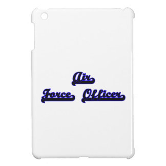 Air Force Officer Classic Job Design iPad Mini Cases