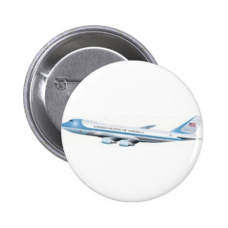 Air Force One Pinback Button