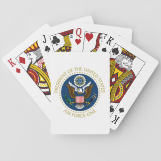 Air Force One - Standard Playing Cards