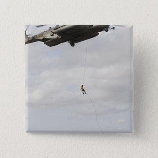 Air Force pararescuemen conduct a combat insert 2 15 Cm Square Badge