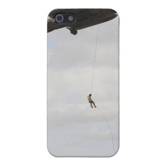 Air Force pararescuemen conduct a combat insert 2 iPhone 5 Cover