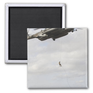 Air Force pararescuemen conduct a combat insert 2 Magnet