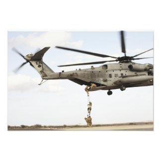 Air Force pararescuemen conduct a combat insert 2 Photo Print