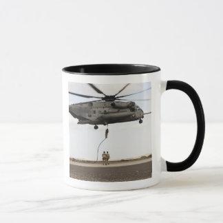 Air Force pararescuemen conduct a combat insert 3 Mug