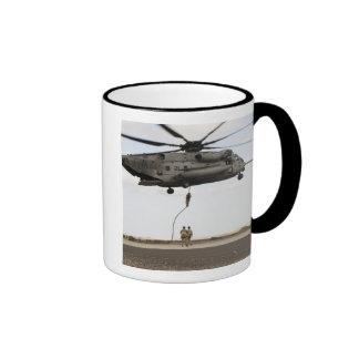 Air Force pararescuemen conduct a combat insert 3 Ringer Mug