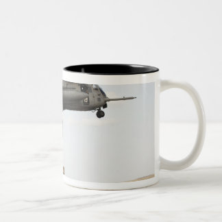 Air Force pararescuemen conduct a combat insert 3 Two-Tone Coffee Mug