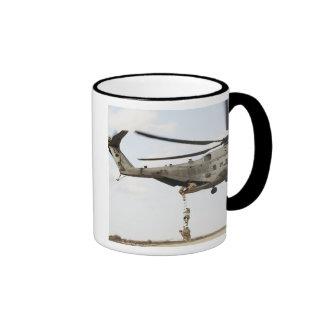 Air Force pararescuemen conduct a combat insert 4 Ringer Mug