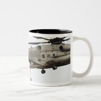 Air Force pararescuemen conduct a combat insert 4 Two-Tone Mug
