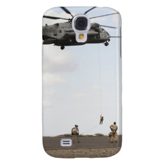 Air Force pararescuemen conduct a combat insert Galaxy S4 Case
