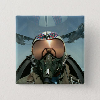 Air Force pilot 15 Cm Square Badge