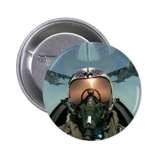Air Force pilot 6 Cm Round Badge