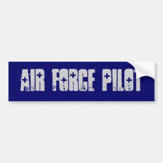 air force pilot Bumper Sticker