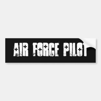 air force pilot Bumper Sticker Car Bumper Sticker