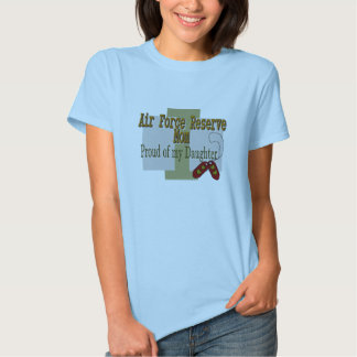 Air Force Reserve MOM Daughter Tee Shirts