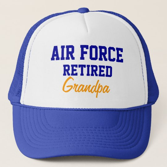 Air Force Retired grandpa cap