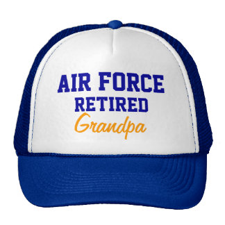 Air Force Retired grandpa cap
