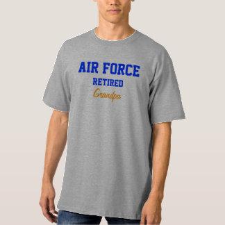 Air Force retired Grandpa tee shirt
