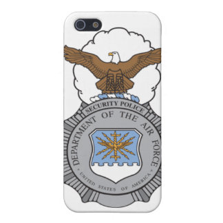Air Force Security Police Badge iPhone 5 Case