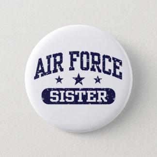 Air Force Sister 6 Cm Round Badge
