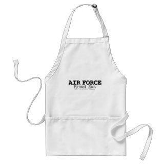 Air Force Son Home of Brave Standard Apron