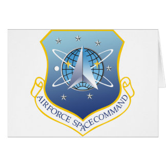 Air Force Space Command Greeting Card