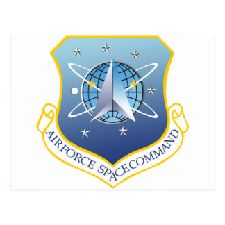 Air Force Space Command Post Card