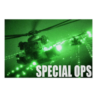 Air Force Special Ops Poster