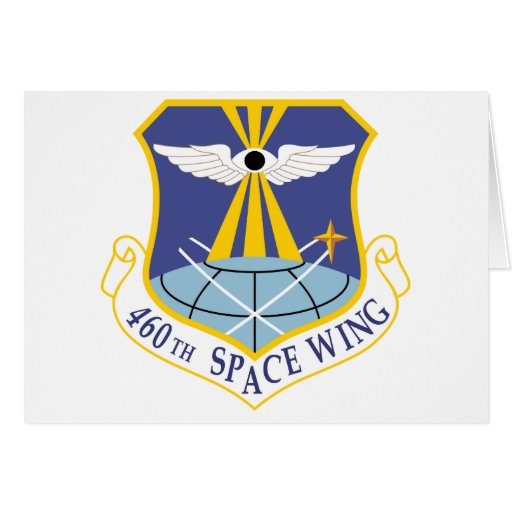 Air Force SSI 460th Space Wing Greeting Card