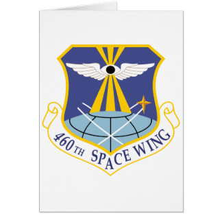 Air Force SSI 460th Space Wing Cards