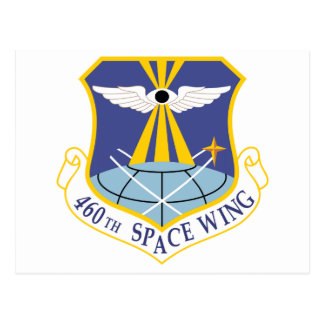 Air Force SSI 460th Space Wing Postcard