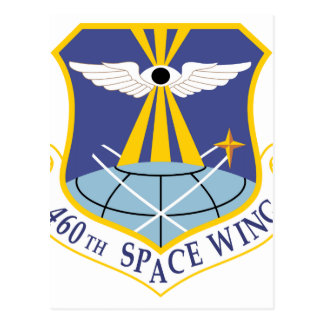 Air Force SSI 460th Space Wing Post Card