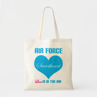 Air Force Sweetheart Love Is In The Air Tote Bag