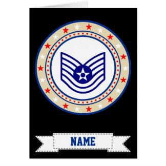 Air Force Technical Sergeant E-6 TSgt Card