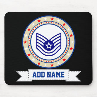 Air Force Technical Sergeant E-6 TSgt Mouse Mat