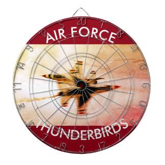 Air Force Thunderbirds Close Pass Dartboard
